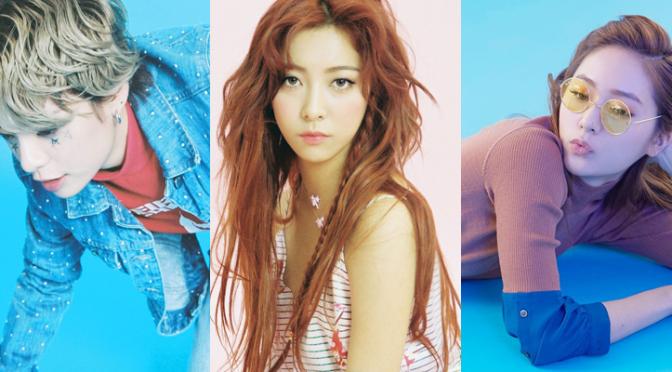 Luna, Amber e o cadáver da Krystal se reúnem para a 1ª performance do f(x) em anos no SMTOWN live in Tokyo