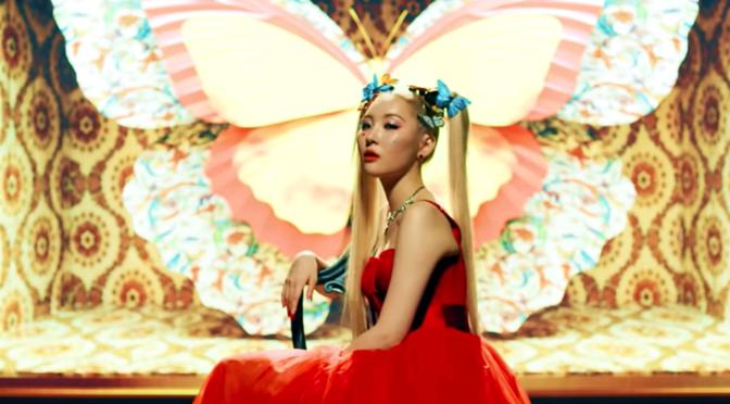 """Sunmi está de volta com mais uma de suas visões de """"Sunmipop"""" em """"LALALAY"""""""
