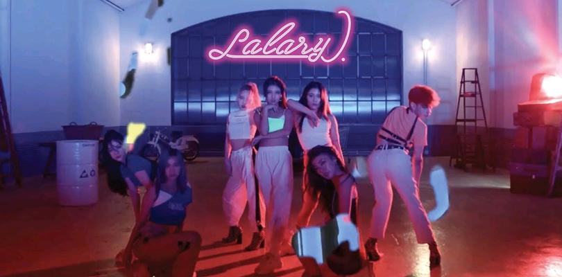 """Com um integrante gay e riscos de te causar epilepsia, Lalary debuta com """"LALARY"""""""