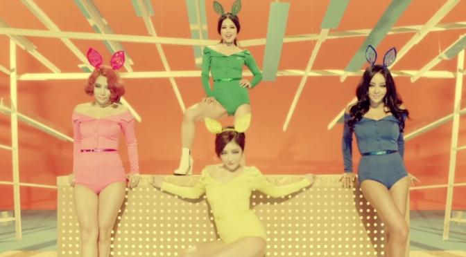Buracos começam a pegar fogo com o comeback do Brown Eyed Girls anunciado para outubro