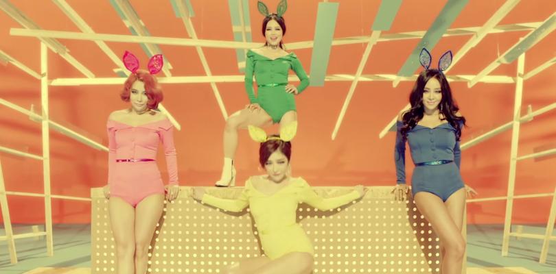 Buracos começam a pegar fogo com o comeback do Brown Eyed Girls anunciado paraoutubro