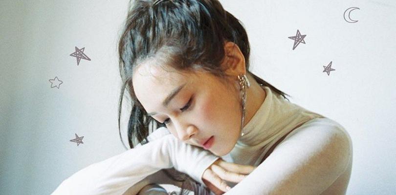 """Jessica Jung larga seu bazar por um momento para lançar """"Call Me Before YouSleep"""""""
