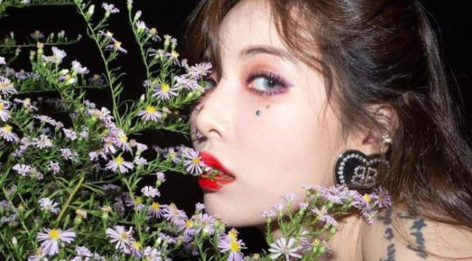 """Hyuna está de volta dando um banho de flor e superação na fanbase com """"FLOWER SHOWER"""""""