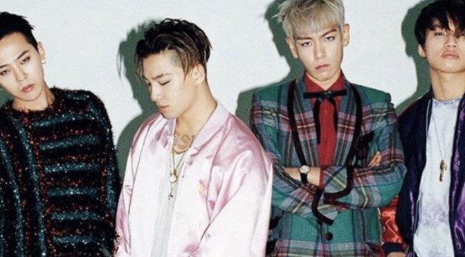 BIGBANG infelizmente renovou o contrato com a YG