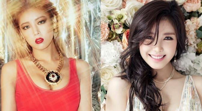 Grande gostosa ex-Wonder Girls e grande gostosa ex-Secret estão planejando formar uma dupla de grandes gostosas