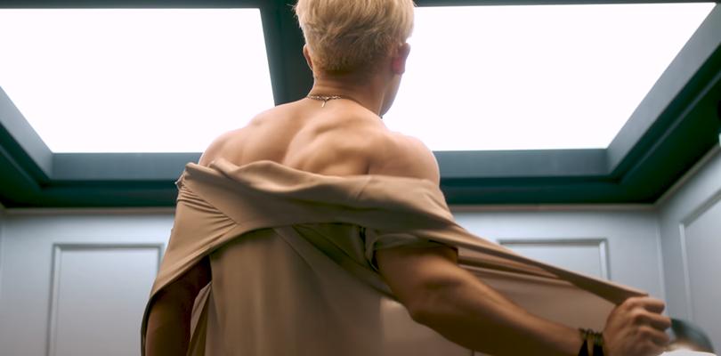 """Wonho sem camisa não é a melhor coisa de """"OpenMind"""""""