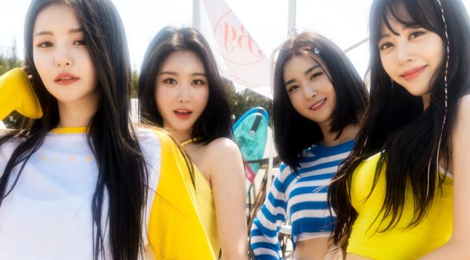"""Brave Girls são as rainhas do verão de 2013 em 2021 com """"Chi Mat Ba Ram"""""""